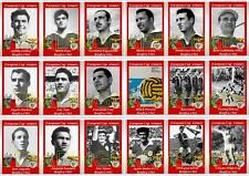 Benfica European Cup winners 1961 football trading cards