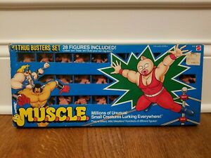 M.U.S.C.L.E. #1 Thug Busters Set~Rare Flesh Color~28 Figures~Original Package