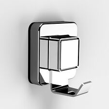 Pushloc Wall Mounted, Suction Robe Hook, Chrome, No Drilling, Easy Installation