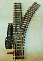 American Flyer Gilbert S Gauge Pike Master Right Hand Switch, Brown, Used (1634)