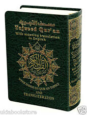 Tajweed Quran Con Inglés Traducción y Transliteración Small (Tamaño De Bolsillo)