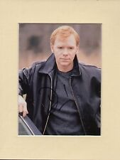 DAVID CARUSO  American Actor CSI  NYPD  Mounted Display Hand Signed Colour Photo