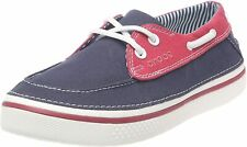 NWT - CROCS Men's 'HOVER BOAT' Navy/White DECK / BOATING SHOES - US 11