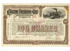 Choctaw Oklahoma and Gulf Railroad 1899