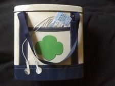 PAIR GIRL SCOUT TIN - GOING PLACES