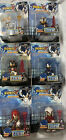 Sonic X Metal Force Space Fighters Lot Sonic Tails Knuckles Shadow RARE FIgures