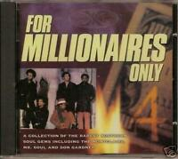 FOR MILLIONAIRES ONLY VOL 4 Various NEW & SEALED NORTHERN SOUL CD (GOLDMINE) R&B
