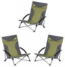 Kampa Sandy Low Chair - Green x 3