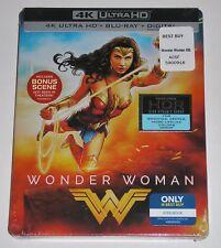 DC Universe - Wonder Woman (4K + Blu-ray, 2017, SteelBook) NEW