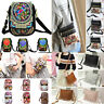 Ethnic Lady Cell Phone Bag Retro Embroider Purse Messenger Crossbody Bag Wallet#