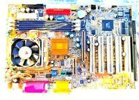 GIGABYTE GA-6VX7B-4X + INTEL CELERON 733MHz SL4P7 CPU + H/S & FAN