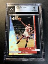 MICHAEL JORDAN 1996 UPPER DECK SP #16 SAMPLE HOLOFOIL CARD BGS 9 BULLS NBA MJ
