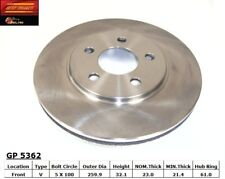 Disc Brake Rotor fits 1996-2000 Plymouth Breeze  BEST BRAKES USA