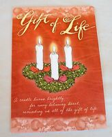 LEANIN' TREE 10 Christmas Cards & Envelopes GIFT of LIFE by Artist Flavia
