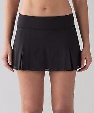 BNWT Lululemon Smooth Stride Skirt Size 12---BLK