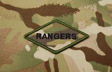 Multicam RANGERS Diamond Morale Patch 75th Ranger Regiment Fort Benning US Army