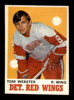 1970 O-Pee-Chee #155 Tom Webster RC EXMT/EXMT+ X1627999