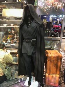 IN HAND Star Wars Galaxy's Edge BLACK ROBE ONLY Cosplay Costume L/XL Extra Large