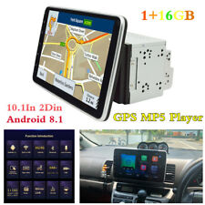 Rotatable 10.1In 2Din Android 8.1 Car In-Dash Radio Stereo Player GPS Navigation
