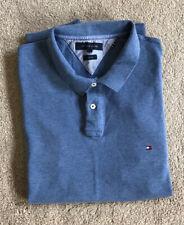 Tommy Hilfiger Blue Polo Shirt XXL Slim Fit