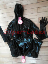 142 LATEX CATSUIT INFLATABLE BREAST THREE CONDOM  CUSTOMIZED