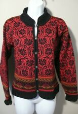 DALE OF NORWAY 'DALE CASUAL' Women's  Pure New Wool Sweater Cardigan Sz M