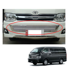 Front Lower Grill Grille Net Cover Chrome V2 For Toyota Hiace Commuter 2011 - 13