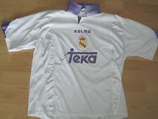 KELME REAL MADRID Trikot 1997 mit original Unterschrift RAUL, Gr. L