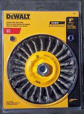 "DEWALT DW4937 6"" x 5/8-11 High Performance Carbon Cable Twist Wheel"