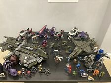 HALO mega bloks - Falcon - Ghost - Banshee - Volturne MasterChief - HALO Lego