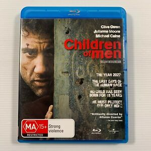 Children Of Men (Blu-ray, 2009) Michael Caine, Chiwetel Ejiofor Region B