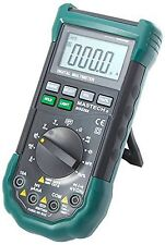 Mastech Ac/Dc Auto/Manual Range Digital Multimeter, Ms8268, Green, Black