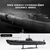 1:144 German U-Boat Type Submarine Static Scale Model Plastic Assembly Boat Kit