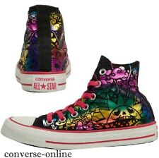 Women's Girl's CONVERSE All Star METALLIC HIGH TOP Trainers Boots SIZE UK 3