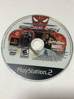 Spider-Man: Web of Shadows ( PS2, PlayStation 2, 2008)- Disc Only