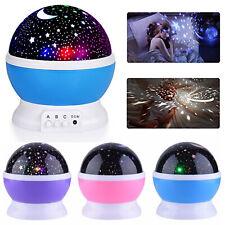 LED Sternenhimmel Projektor Lampe Nachtlicht Kinder Dekor Party Nachtlampe DE