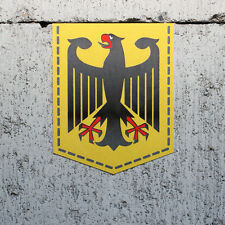 "Germany Coat of Arms sticker - 2"" x 2.5"" - German Flag Decal Car Emblem Badge"