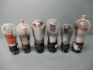 Misc Globe Vacuum Tubes 26 37 56 32 Amplitrex tested as Shown
