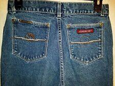 Vintage 80s Jordache High Waist Med.Jeans w/ Horsehead and Sun Motif 27x33 #223A