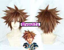 Kingdom Hearts III Sora or Digimon Yagami Taichi Cosplay Hair Wig Anime