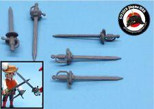 1 ESPADA ROPERA CONCHA TERCIOS SPANISH RAPIER SWORD TERCIOS PLAYMOBIL CUSTOM WW2