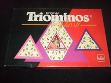 TRIOMINOES: VINTAGE-CLASSIC-BOARD-GAME  -  MADE-BY-GOLIATH