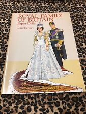 Royal Family Paper Dolls Tom Tierney 1994