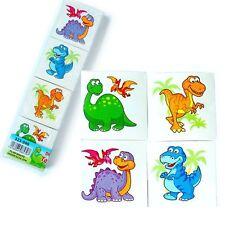 28 x Cute Cartoon Dinosaur Design Temporary Tattoos - Great Party Bag Fillers!