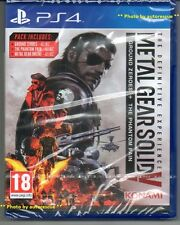 "Metal Gear Solid V (5) the definitive Expérience ""New & Sealed' * PS4 (Quatre) *"