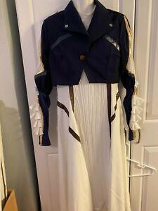 NEW 9pc. Renaissance Pioneer Women Halloween Costume Adult S/M Teen Size XL