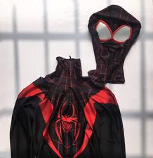 Amazing Spiderman Costume Ultimate Miles Morales Spider-Man Bodysuit Cos Suit