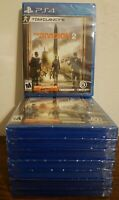 Tom Clancy's The Division 2 - Playstation 4, PS4 - BRAND NEW AND FACTORY SEALED