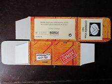 BOITE VIDE NOREV  CITROEN VISA 1981 EMPTY BOX CAJA VACCIA