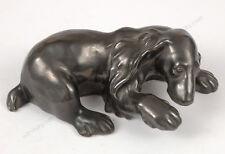 """Viennese manufactory """"Wienerberger"""", """"Dog figure"""" ceramic, ca.1930"""